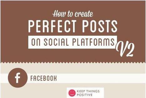 Infografía con tips para crear mejores posts para las redes sociales | Las TIC en el aula de ELE | Scoop.it