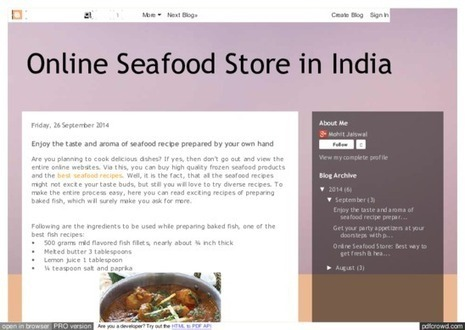 best seafood recipes|fresh seafood products | Seafood Online Delivery | Scoop.it