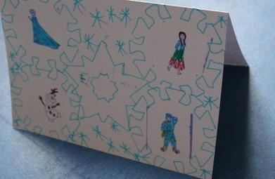 Tampons Reine des neiges | Bricolage enfants 2 à 10 ans | Scoop.it