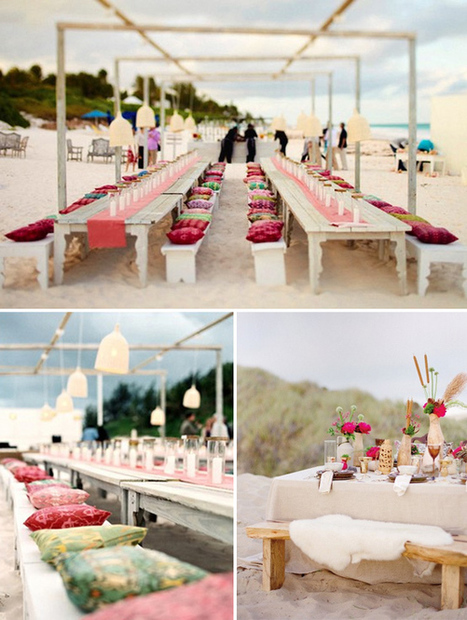 2014 Beach Wedding decoration ideas | ILEANA DE LAS MERCEDES ADUM RODRIGUEZ | Scoop.it