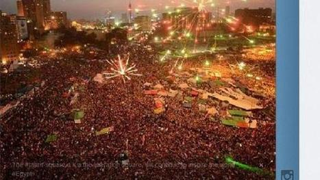 Egyptians take to social media to make their voices heard | Protest Generation | Scoop.it