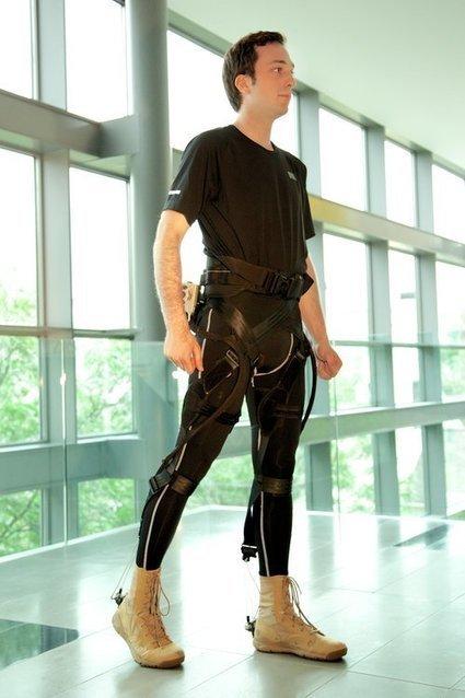L'exosquelette flexible, un nouveau pas vers le transhumanisme ?   qrcodes et R.A.   Scoop.it