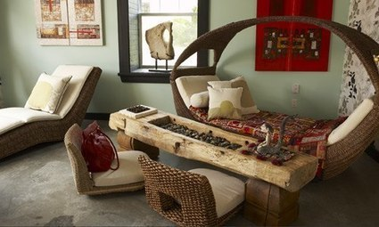 Balinese Interior Decor. ❝ Bali style decor is combining the exotic elements of Far East decor with a tropical decor. The Asian influence of Bali style adds a magnificent and dramatic touch, while ... | Interior design ideas | Scoop.it