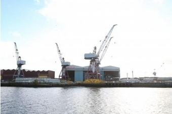 Fears over Govan yard as cranes removed | Shipyard Closures | Scoop.it