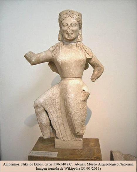 Iconódulos: Nike de Delos. 550-540 a.C.   Griego clásico   Scoop.it