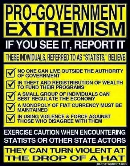 Report Pro-Government Extremist.... (wouldn't hurt to film them either).  ;)    #OATH not #NDAA  #Statism | Criminal Justice in America | Scoop.it