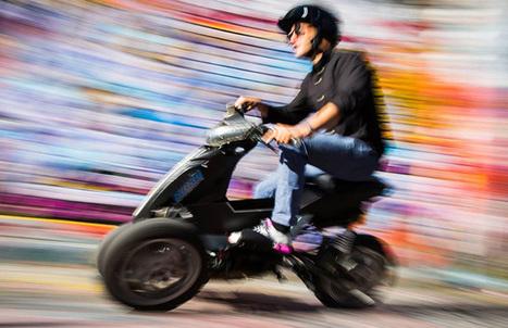 Scooter électrique Sway Motorsports : un 3 roues inclinable pour affronter la ville.   All Boats Avenue   Nautisme et Plaisance   Scoop.it