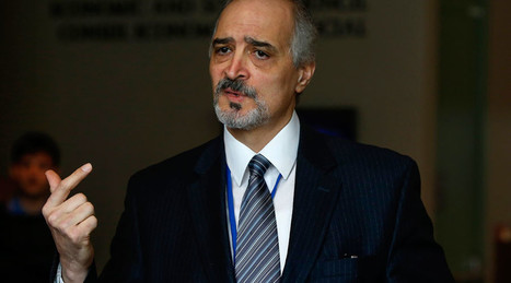 Israel cooperates with ISIS, Al-Qaeda terrorists – Syria chief govt negotiator Bashar Jaafari | Saif al Islam | Scoop.it