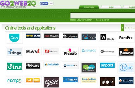 Online tools and applications - Go2web20 | Ejercicios de Español | Scoop.it