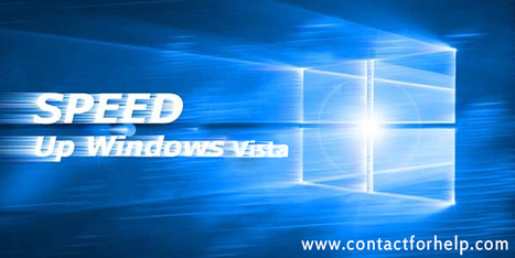 How To Speed Up Windows Vista on Your Laptop | Costomer Support and Services | Scoop.it