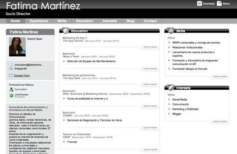 Cómo elaborar nuestro Curriculum en PDF, Infografía o Vídeo ...   Búsqueda de empleo   Scoop.it