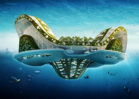 Une île flottante pour les réfugiés climatiques | Innovations urbaines | Scoop.it