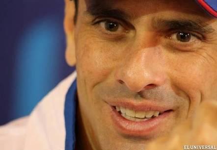 """Capriles recorrerá América Latina para """"levantar banderas de la ... - El Universal (Venezuela)   spanishpiece   Scoop.it"""
