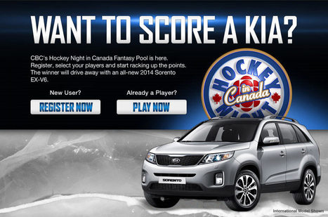 CBC Hockey Night in Canada Fantasy Pool | Contests | Giveaways | Promos | ETC | Scoop.it