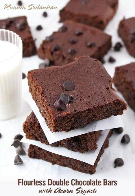 Gluten Free Double Chocolate Bars | Daily Dose of Creativity | Scoop.it