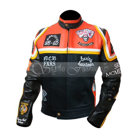 Harley Davidson Marlboro Man Biker Leather Jacket | Harley Davidson and The Marlboro Man Replica Leather Jacket | Scoop.it