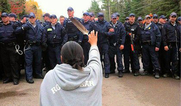 They are being sued by an American company for peacefully defending community against fracking | OCCUPY → INDIGENOUS NATIONHOOD MOVEMENT ← (INM) | Scoop.it