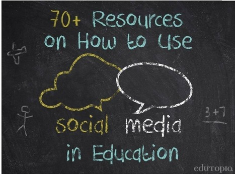 Tons of Great Resources (from Edutopia) to Help You Use Social Media in Class | Media_Tech Resources SCHS | Scoop.it