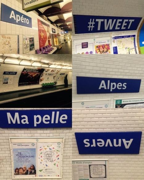 Métro - RER : la RATP renomme 13 stations   Travel   Scoop.it