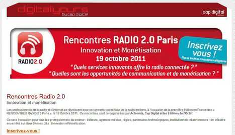 Digitallyours » Rencontres Radio 2.0 | Radio 2.0 (En & Fr) | Scoop.it