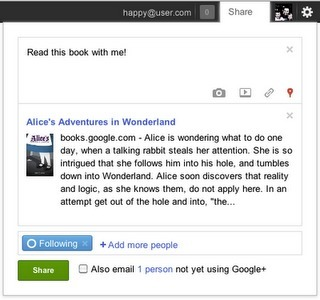 Google + permettra de partager ses lectures préférées | Méli-mélo de Melodie68 | Scoop.it