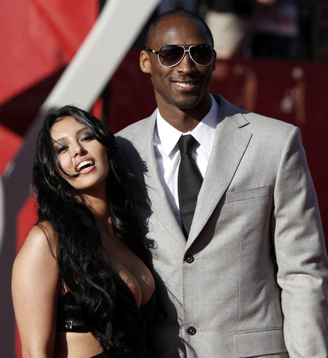 Celebrity for the World: Kobe Bryant's wife Venessa changed her mind about her champion husband | Celebrity for the world | Scoop.it
