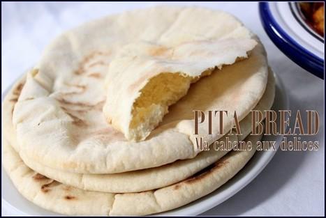 Pita pain libanais pain arabe   La cuisine de Djouza recettes faciles et rapides   Boulange   Scoop.it