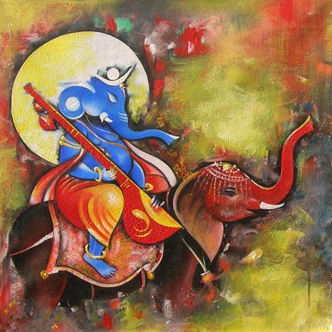 Explore the new spheres of Indian Art Painting | Online Art Gallery | Scoop.it