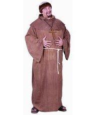 Halloween 2013 Medieval Monk Adult Plus Costume, Plus, Brown from Fun World Costumes Sales $ Deals | Halloween Costumes 2013 | Scoop.it