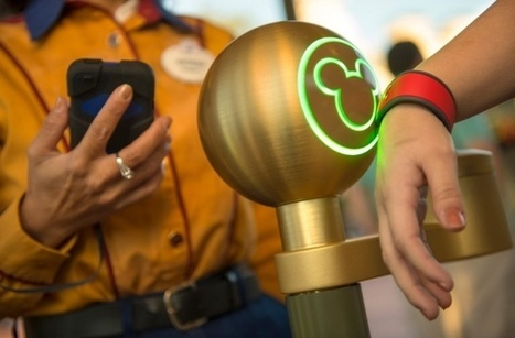Disney's Electronic Wristband Illustrates Why Big Companies Push Contactless Wallets | MIT Technology Review | New Payment Methods | Scoop.it