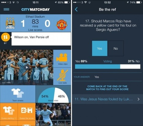 Behind the Scenes of Manchester City's Ambitious New App | Social Media Sports Marketing | Scoop.it