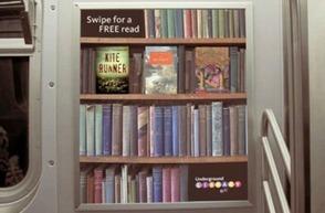 Η βιβλιοθήκη που ταξιδεύει με το μετρό   school- and other libraries   Scoop.it