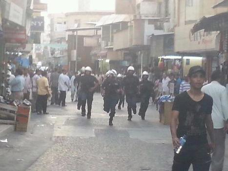 AlKhalifa terrorists attack businesses, business owners, and shoppers in Bahrain!  GAS ATTACK! | Human Rights and the Will to be free | Scoop.it