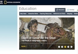 Some Great Educational Resources for Teachers and Students from National Geographic Education | DIGITAL EDUCATION | Scoop.it