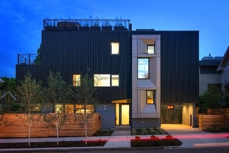 PARK PASSIVE: Seattle's First Certified Passive House by NK Architects | sustainable architecture | Scoop.it