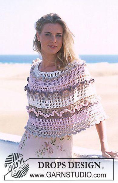 Ponchos y Ponchitos | Crochet Crochet Crochet.... | Scoop.it