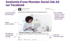 Monster traque les candidats potentiels sur Facebook | SocialWebBusiness | Scoop.it