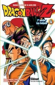 Manga - Dragon Ball Z, Les Saïyens : 1re partie, Tome 4   Nouveautés du CDI   Scoop.it