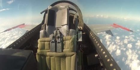 Premier vol pour un F-16 sans pilote | www.avionslegendaires.net | GeekMag.fr | Scoop.it