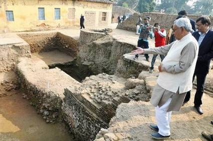 Another ancient university's remains found in Bihar - Times of India | Ancient Activities | Scoop.it