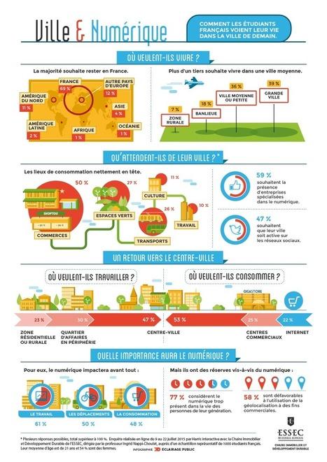 INFOGRAPHIE -- Le rapport ambigu de la génération Y au numérique | Nouveaux lieux, nouveaux apprentissages | Scoop.it