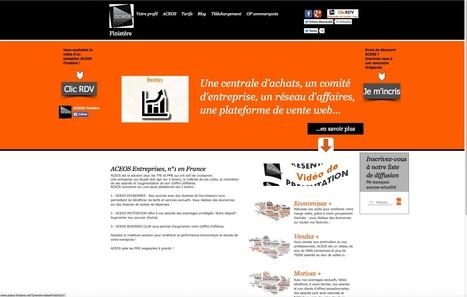 Notre site internet : ACEOS Finistère, Réseau d'Entreprises, Centrale d'achats et CE   ACEOS Finistère, Economisez et développez vos ventes !   Scoop.it