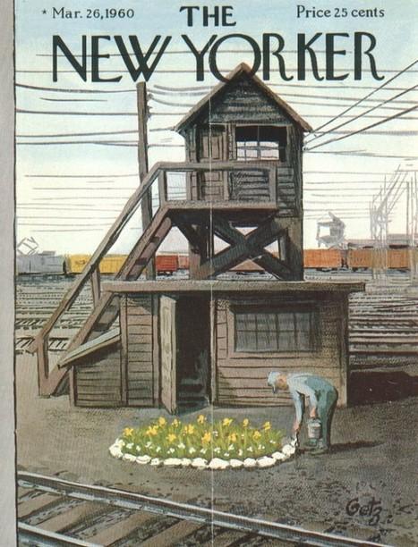 Les couvertures du magazine The New Yorker   Bématiste   Scoop.it