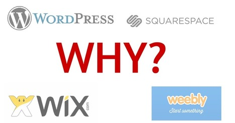 Why WordPress vs Squarespace, Wix, or Weebly | Simple Local Business | Scoop.it