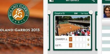 Roland-Garros 2013 : application pour suivre les matchs en direct ... - Terrafemina | Roland Garros sur les réseaux sociaux | Scoop.it