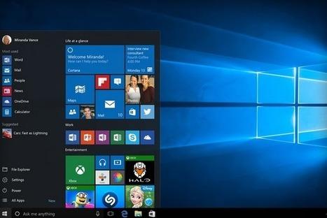Windows 10 est finalisé | Techno News | Scoop.it