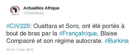 Ouattara et Soro, ont été portés à bout de bras par la Françafrique | Actualités Afrique | Scoop.it