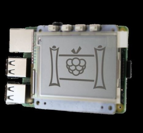 PaPiRus, piccolo display ePaper per Raspberry Pi su Kickstarter - HDblog.it | Raspberry Pi | Scoop.it