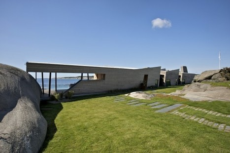 The Rock House in Norway Adjusts to the Terrain... | sustainable architecture | Scoop.it