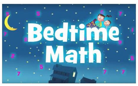 Bedtime Math, una plataforma para aprender matemáticas antes de dormir - Educación 3.0 | FOTOTECA INFANTIL | Scoop.it